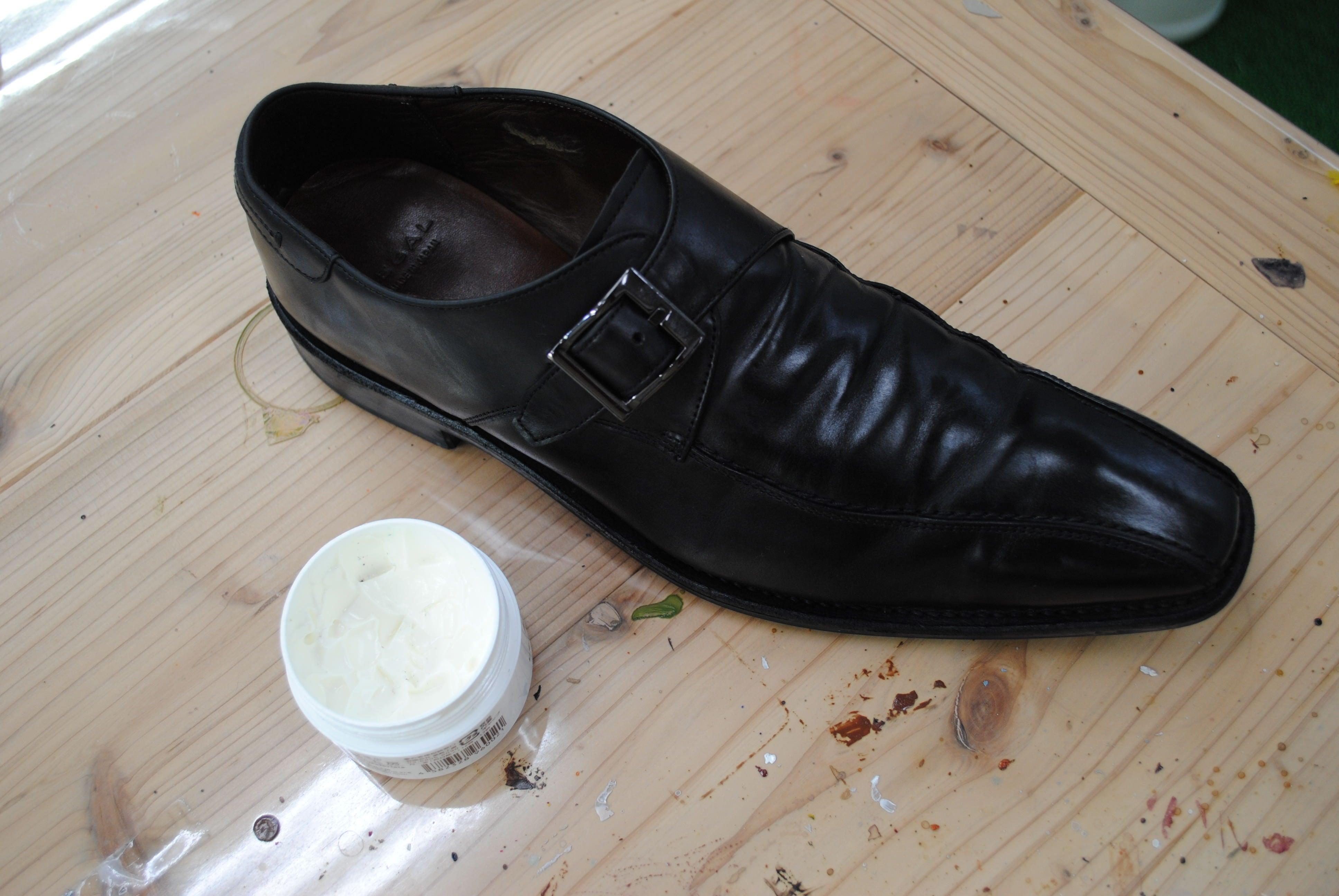 靴の保湿クリーム